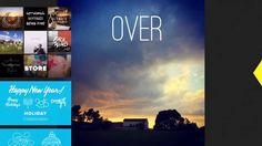 """""""Over"""" la app para añadir texto y artwork a tus fotos"""
