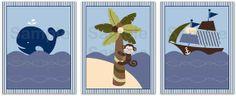 Ahoy Mate Nautical Whale Printable Nursery Wall Art Insant Download