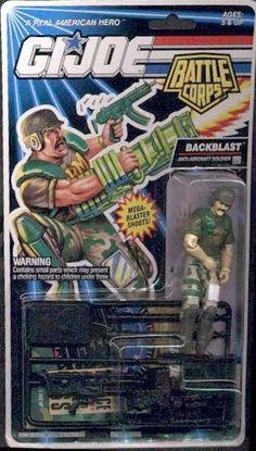 Backblast (v2) G.I. Joe Action Figure - YoJoe Archive