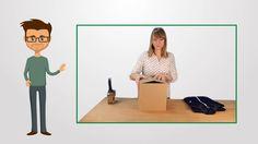 Versandbeutel, Versandtaschen Video