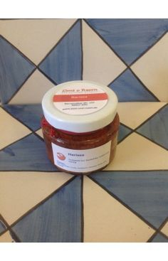 Homemade chili paste from North Africa by Zimt & Rosen from Cologne.