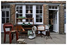 B.Southgate is one of our favourite stores at The Courtyard, off Colombia Road. Great vintage furniture, lighting and accessories!