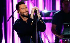 Lataa kuva Adam Levine, Maroon 5, konsertti, Amerikkalainen laulaja, komeita miehiä