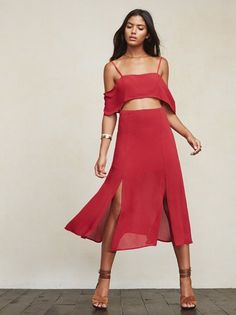 I'm not me without you. The Ella Two Piece. https://www.thereformation.com/products/ella-two-piece-raspberry?utm_source=pinterest&utm_medium=organic&utm_campaign=PinterestOwnedPins