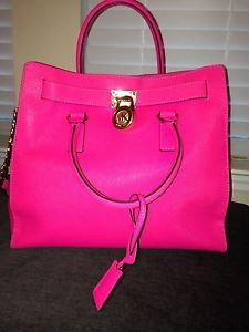 Michael Kors Raspberry Or Deep Pink Google Search Hamilton Saffiano Handbag Amp
