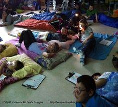 Fabulous 4th Grade Froggies: Writing Fun = Camp Writing Along! What a great idea! Free agenda plans and songs