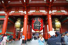 Sensoji Temple, Asakusa , Tokyo Japan