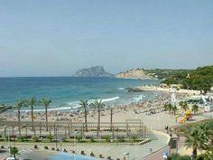 Moraira, Spain. Ypperlig sommersted: Ikke glem airconditioning ELLER badebasseng, her er det veldig varmt.