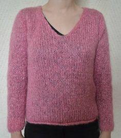 tuto pull - maman tricote crochete cuisine