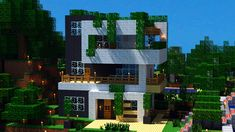 Modern House Minecraft Design