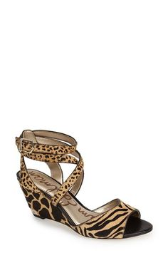 Sam Edelman 'Samara' Wedge Sandal (Women) available at #Nordstrom