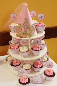 Princess Cupcakes by Violeta Glace