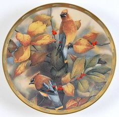 Lenox ChinaNature's Collage: Among the Berries - Artist: Catherine McClung