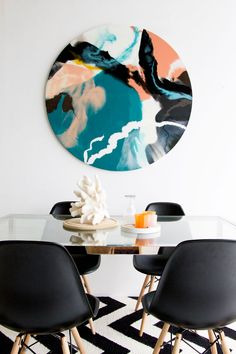 Astella Designs artworks by Bec Tarrant // Queensland, Australia // Styling and photography by Tanika Blair // Furnishings by Tailored Space Interiors // Available Online