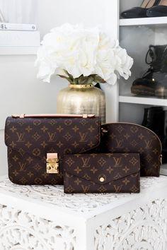 Empreinte - My Philocaly Taschen Von Louis Vuitton, Louis Vuitton Handbags, Louis Vuitton Monogram, Lv Pochette, Everyday Outfits, Classic Style, Bag Accessories, Cool Designs, Designer Bags
