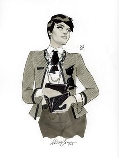 Chanel Catwoman by Kevin Wada