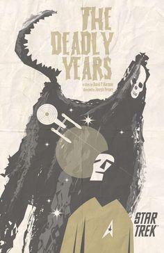 """The Juan Ortiz Original Series Art Prints  """"The Deadly Years."""""""