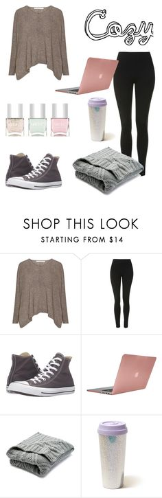 """Untitled #123"" by jade234 ❤ liked on Polyvore featuring Topshop, Converse, Incase, Nordstrom Rack, Hollister Co. and Nails Inc."
