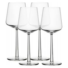 Iittala Essence Set of 4 Red Wine Glasses ($56) ❤ liked on Polyvore featuring home, kitchen & dining, drinkware, glass drinkware, red wine glass, iittala, iittala glassware and red glass wine glasses