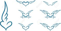 heart with wings - Buscar con Google