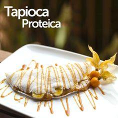 Tapioca proteica, ideal para dietas para ganho de massa magra ou perda de peso. Confira essa delícia! http://corpoide.al/3q