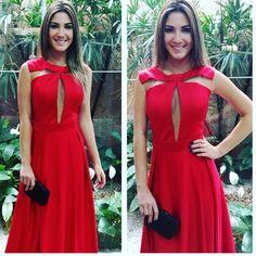 """""""Red, perfeito esse dress alfaiataria com recorte, preço excelente #madrinhas  #formanda  #convidada  #festa #modafesta  #euvoudesetpoint  #welovesetpoint…"""""""