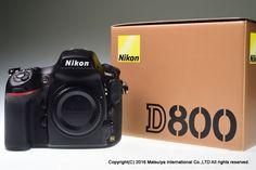 NIKON D800 36.3 MP Digital Camera Body 27282 Shutter Count Excellent+ #Nikon