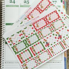 NEW! Christmas Elf Write-On Half Box Stickers for Erin Condren Life Planner/Plum Paper Planner - Set of 32 repin & like. Check out Noelito Flow music. Noel. Thanks https://www.twitter.com/noelitoflow  https://www.youtube.com/user/Noelitoflow