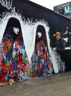 Street artist Hush