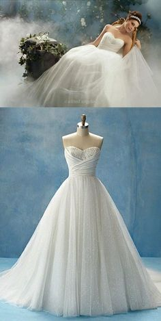 Alfred Angelo - Cinderella, Style 205. This is a classic, fairytale dress, and I like it! Especially the top . . . so pretty! wedding