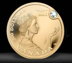 Elizabeth Gold Coin worth three million. Gold coin is pure ounce of gold and a beautiful jaw-dropping diamond.Queen Elizabeth Gold Coin worth three million. Gold coin is pure ounce of gold and a beautiful jaw-dropping diamond. Die Queen, Canadian Coins, Coin Worth, Gold Money, Gold And Silver Coins, Gold Bullion, World Coins, Rare Coins, Coin Collecting