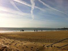 Bournemouth beach clouds.