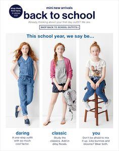Hope Springer for GapKids back to school 2015 shot by Lee Clower