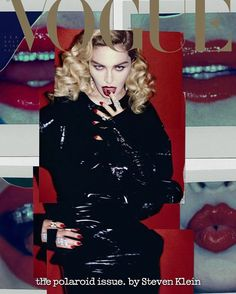 Madonna Covers Vogue Italia February 2017 Polaroid Issue