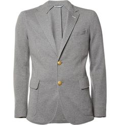 Gant RuggerUnstructured Cotton-Piqué Blazer|MR PORTER