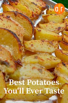"The best potatoes you will ever try ""This is a wonderful . - The best potatoes you will ever try ""This is a wonderful change from simple potatoes … # - Potato Sides, Potato Side Dishes, Vegetable Dishes, Vegetable Recipes, Potato Meals, Vegetable Bake, Pork Chop Side Dishes, Sprouts Vegetable, Side Dish Recipes"