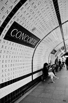 Concorde (Paris Métro) by Gigi Photography, via 500px