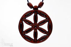 Seed of Life Necklace  Sacred Geometry Jewelry  by CristherArt
