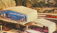 Tomorrow's Home  Many houses of the future will have unusual sites because of the lack of land space.
