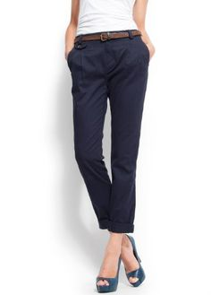Would really love to find some nice chinos for work/clinic that actually fit in a flattering way. Every pair I've tried on makes me feel like a frumpy old lady.