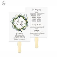 Wedding Programs  Gold Vintage Glamour  Wedding Signs And