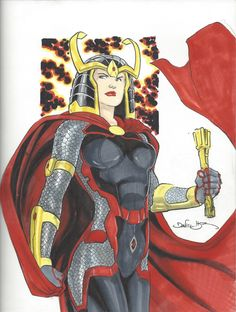 Big Barda by Daniel HDR