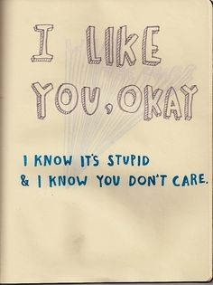 Exactly why I don't say it. He doesn't care.