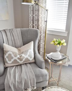 Sita Montgomery Interiors: My Master Bedroom Refresh Revea… Sita Montgomery Interiors: Mein Hauptschlafzimmer Refresh Reveal Bedroom Decor, Bedroom Seating, House Interior, Interior, Bedroom Refresh, Living Room Decor, Home Decor, Home And Living, Room Inspiration