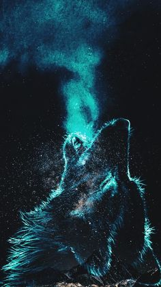 Wolf Wallpaper by danyyoloxd - 61 - Free on ZEDGE™ now. Browse millions of popular animales Wallpapers and Ringtones on Zedge and personalize your phone to suit you. Browse our content now and free your phone Wolf Wallpaper, Animal Wallpaper, Galaxy Wallpaper, Fantasy Wolf, Fantasy Art, Wolf Background, Galaxy Wolf, Wolf Artwork, Wolf Painting