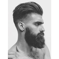Stylish hairstyle ▃▃▃▃▃▃▃▃▃▃▃▃▃▃▃ 👇 Want to send your photo, Totaly free - Link in bio -- Beard King, Beard Boy, Men Beard, Cool Haircuts, Haircuts For Men, Stylish Beards, Stylish Men, Mens Modern Hairstyles, Men Hairstyles