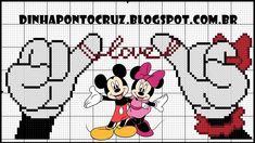 Bom sábado a todos! Deixo com carinho para vocês o jura juradinho do casal de ratinhos Disney: