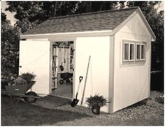 Free, DIY Storage Shed Plans and Building Guide from Popular Mechanics Magazine