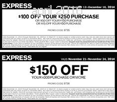Express Coupons Ends of Coupon Promo Codes APRIL 2020 ! Store Coupons, Online Coupons, Free Printable Coupons, Free Printables, Express Coupons, New Hobbies, Hot, November 2015, March