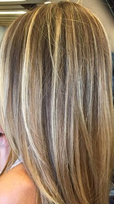 The Chic Technique:  Blonde highlights.